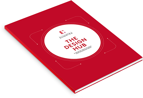 The Design Hub brochure