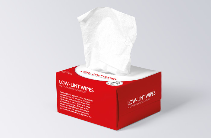 Non woven wipes example
