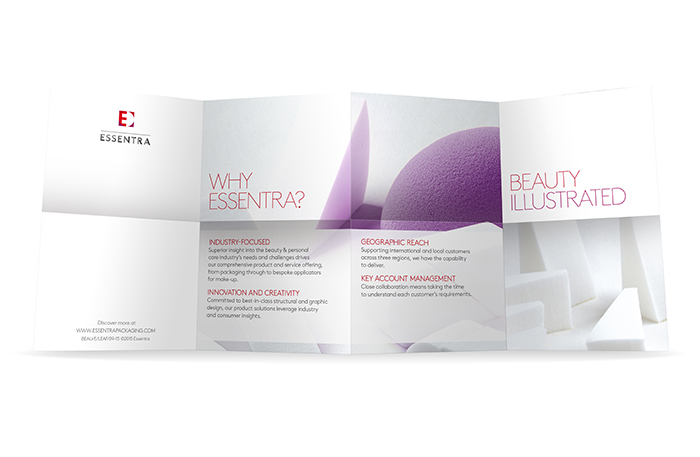 beauty leaflet example