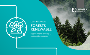 FSC and PEFC certifications place value on the responsible management of forest resources